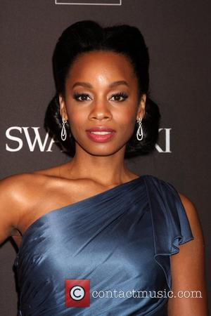 Anika Noni Rose 2010 Costume Designer's Guild Awards held at the Beverly Hilton hotel Los Angeles, California - 25.02.10
