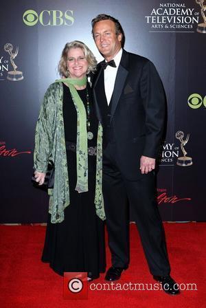 Doug Davidson and wife 2010 Daytime Emmy Awards held at Las Vegas Hilton Hotel & Casino - arrivals Las Vegas,...