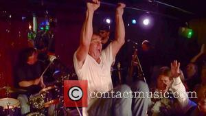 Dennis Quaid performed the rock classic 'Great Balls of Fire' at Aqua Lounge in Beverly Hills with his band Dennis...