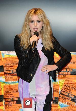 Diana Vickers River Island Sessions held at the Westfield Shopping Centre. London, England - 12.11.10