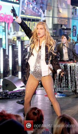 Ke$ha, Kesha, Dick Clark and Ryan Seacrest