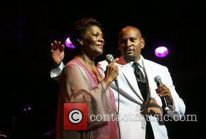 Dionne Warwick and her son David Elliot performing at Paradiso  Amsterdam, Holland - 05.09.10