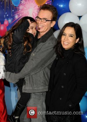 Billy Bob Thornton, daughter Bella Thornton and Connie Angland Disney On Ice presents 'Let's Celebrate!' held at L.A. LIVE....