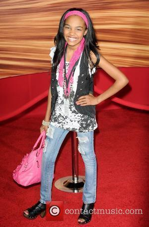 China McClain  Disney's 'Tangled' Los Angeles Premiere at the El Capitan Theatre - arrivals Hollywood, California 14.11.10