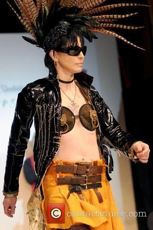 Joan Jett 2010 'Dressed To Kilt' Charity Fashion Show at M2 Ultralounge - Runway New York City, USA - 05.04.10