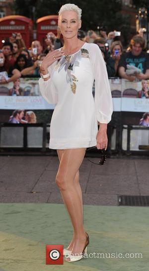 Brigitte Nielsen 'Eat, Pray, Love' UK film premiere held at the Empire Leicester Square - Arrivals  London, England -...