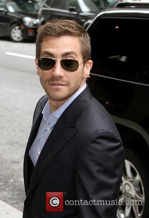 Jake Gyllenhaal outside the Ed Sullivan Theatre in New York New York, USA - 24.05.10