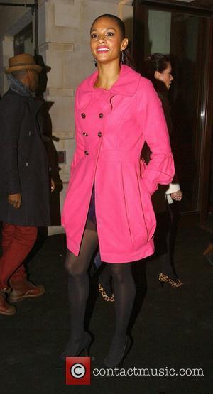 Alesha Dixon Alicia Keys - Album Launch Party 'The Element Of Freedom' at Aqua London, England - 09.12.09