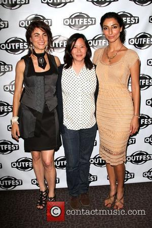 Traci Dinwiddie, Kim Yutani and Necar Zadegan The Los Angeles Premiere of 'Elena Undone' during the 28th Annual Outfest Film...