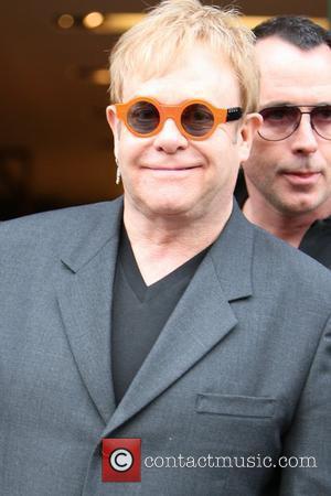 Elton John Performing At Mayan Ruins
