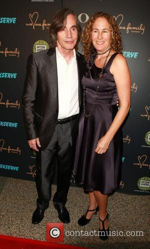 Jackson Browne, and his wife   at the We Are Family 8th Annual Celebration Gala at the Hammerstien Ballroom.,...