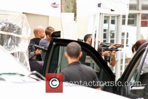 Vin Diesel, Paul Walker and Ludacris on the set of 'Fast Five' Rio Piedras, Puerto Rico - 14.07.10
