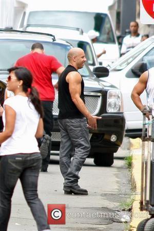 Vin Diesel on the set of 'Fast Five' Rio Piedras, Puerto Rico - 14.07.10