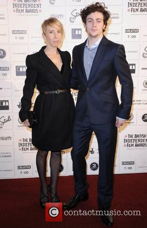 Sam Taylor Wood and Aaron Johnson The British Independent Film awards London, England - 06.12.09