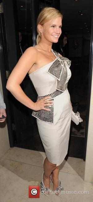 Kerry Katona, leaving Lisa Byrne's 40th Birthday party, held at Flemings Mayfair Hotel London, England - 20.04.10