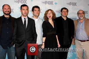 Loren Bouchard, John Roberts, Dan Mintz, Kristen Schaal, Eugene Mirman and Jim Dauterive  The FOX TCA Winter 2011 Party...