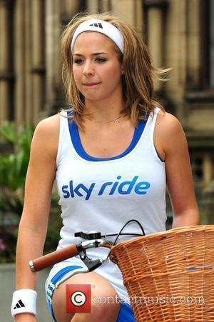 Gemma Atkinson launches Sky Ride Manchester at Manchester Town Hall Manchester, England - 27.07.10