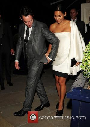Jonathan Rhys Meyers and Reena Hammer  leaving The George Club London, England - 08.09.10
