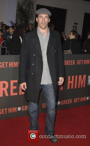 Jon Hamm  Los Angeles Premiere of 'Get Him To The Greek' held at The Greek Theatre Los Angeles, California...