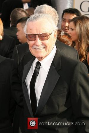 Stan Lee 68th Annual Golden Globe Awards held at The Beverly Hilton hotel - Arrivals Beverly Hills, California - 16.01.11