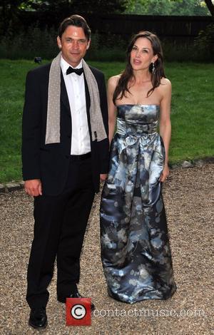 Hampton Court Palace, Claire Forlani, Dougray Scott