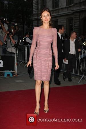 Olga Kurylenko GQ Man of the Year Awards 2010 held at the Royal Opera House - Arrivals.  London, England...