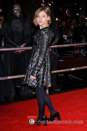 Chloe Moretz  World Premiere of 'Harry Potter and the Deathly Hallows Part 1' held at the Odeon Leicester Square...