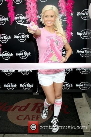 Holly Madison kicks off 'Pinktober', a month long campaign for breast cancer awareness, held at Hard Rock Cafe Las Vegas,...