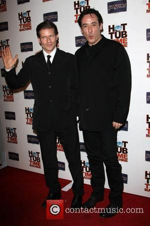 Crispin Glover and John Cusack
