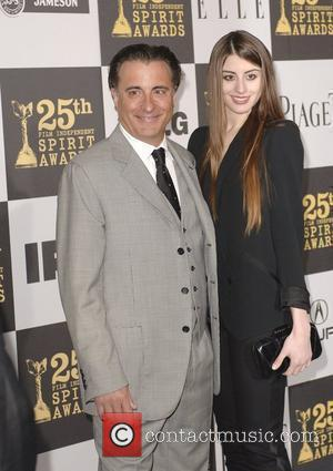 Andy Garcia and Daughter Dominik