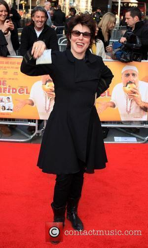 Ruby Wax World premiere gala screening of 'The Infidel' held at the Hammersmith Apollo  London, England - 08.04.10