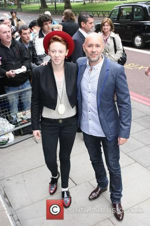 Elly Jackson and Ben Langmaid of La Roux The Ivor Novello Awards at Grosvenor House - Arrivals London, England -...