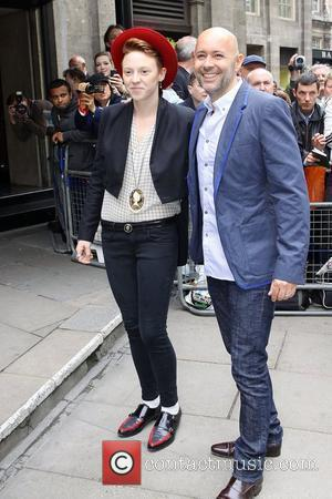 Elly Jackson and Ben Langmaid from La Roux The Ivor Novello Awards at Grosvenor House - Arrivals London, England -...