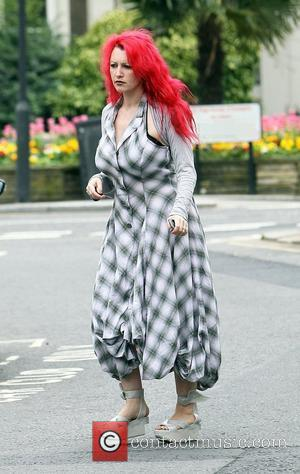 Jane Goldman arriving at a friends house in west London London, England - 26.04.10