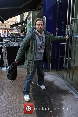 Jason Donovan  arriving at the Heart FM studios in central London. London, England - 08.01.10