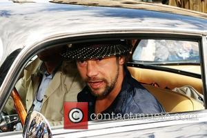 Singer Jay Kay prepares to take part in this year's Italian road race, the 'Mille Miglie', which goes from Brescia...