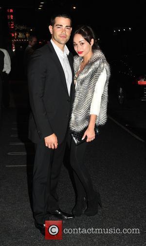 Jesse Metcalfe and Cara Santana outside their hotel New York City, USA - 01.10.10