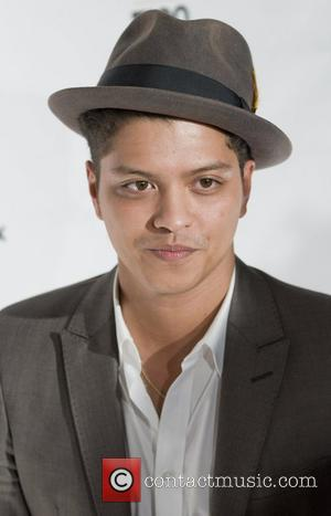 Bruno Mars Z 100's Jingle Ball 2010 presented by H&M at Madison Square Garden - Arrivals  New York City,...