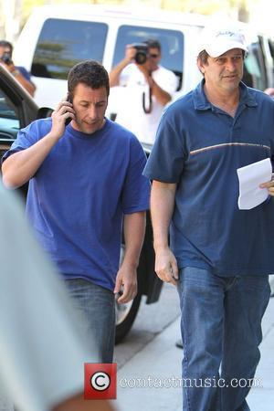 Adam Sandler and Allen Covert