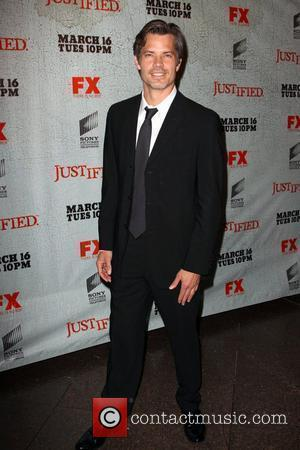 Timothy Olyphant FX's Justified - Los Angeles Premiere Screening Held At Directors Guild Theatre West Hollywood, California - 08.03.10