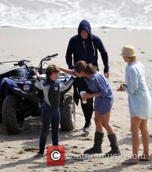 Justin Timberlake, Mila Kunis and Nolan Gould