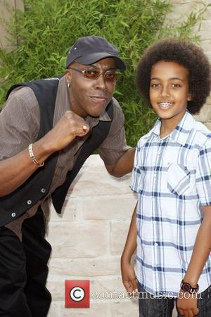 Arsenio Hall and son Arsenio Jr The LA Premiere of 'The Karate Kid' held at the Mann Village Theatre in...