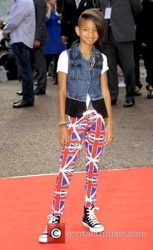 Willow Smith UK film premiere of Karate Kid held at the Odeon Cinema - Arrivals London, England - 15.07.10