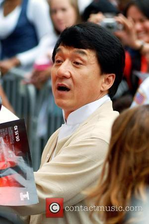 Jackie Chan  Chicago premiere of 'The Karate Kid' at AMC River East 21 movie theatre Chicago, Illinois - 26.05.10