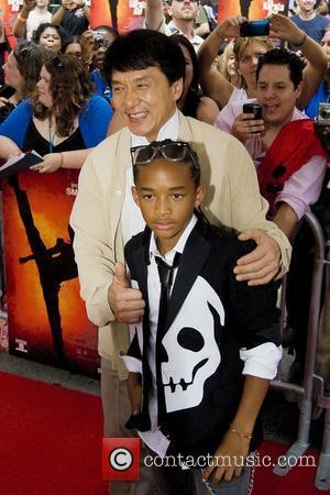 Jackie Chan and Jaden Smith  Chicago premiere of 'The Karate Kid' at AMC River East 21 movie theatre Chicago,...