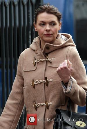 Kate Ford out and about in Manchester Manchester, England - 01.11.10