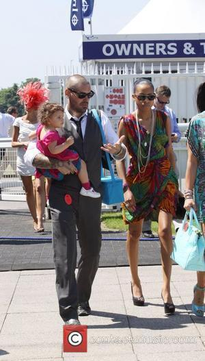 Shane Lynch and wife Sheena White and daughter Billie Rae and at Epsom Racecourse Epsom, Surrey - 04.06.10