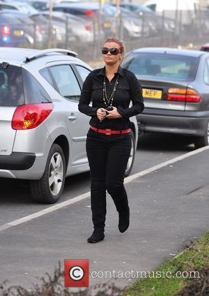 Kerry Katona going for lunch at a Toby Carvery with her mum Warrington, England - 02.03.10