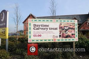 The Toby Carvery where Kerry Katona had lunch with her mum Warrington, England - 02.03.10
