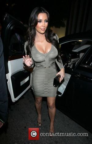 Kim Kardashian  arrives at Nobu restaurant in West Hollywood Los Angeles, California - 24.09.10